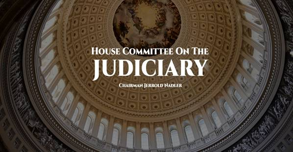 House Committee on the Judiciary, Chairman Jerrold Nadler